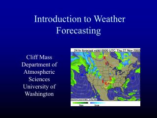 Prologue to Climate Estimating