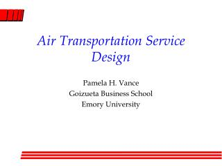 Air Transportation Administration Outline