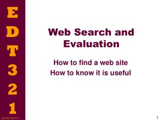 Web Inquiry and Assessment