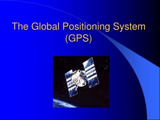 The Worldwide Situating Framework (GPS)