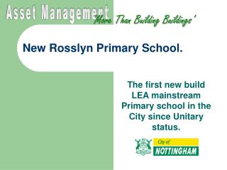 New Rosslyn Elementary School.