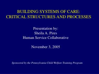 BUILDING Frameworks OF Consideration: Basic STRUCTURES AND Procedures