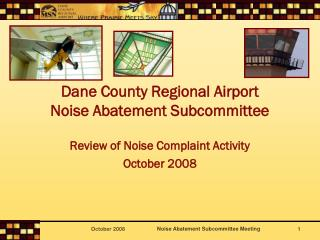 Dane Area Territorial Airplane terminal Commotion Reduction Subcommittee