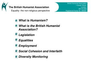 What is Humanism? What is the English Humanist Affiliation? Enactment Balances Vocation Social Attachment and Interfaith