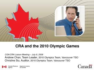 CRA and the 2010 Olympic Recreations