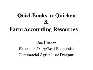 QuickBooks or Enliven and Homestead Bookkeeping Assets