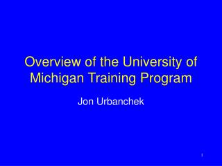 Diagram of the College of Michigan Preparing Program