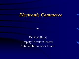Electronic Trade