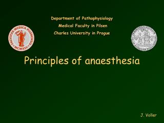 Standards of anesthesia