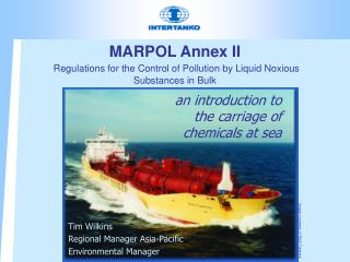 MARPOL Add II Regulations for the Control of Contamination by Fluid Toxic Substances in Mass