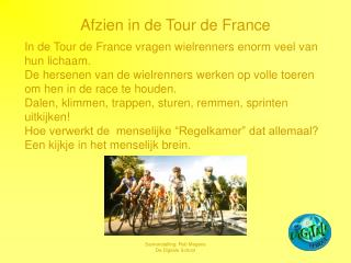 Afzien in de Visit de France