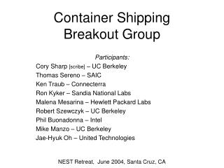 Compartment Shipping Breakout Bunch