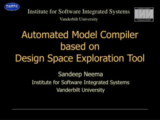 Mechanized Model Compiler in light of Outline Space Investigation Apparatus