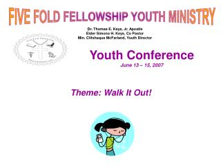 Youth Gathering June 13
