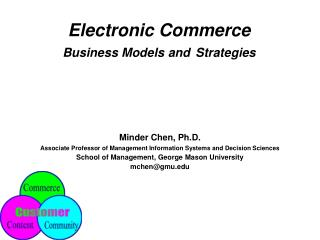 Electronic Trade Plans of action and Procedures