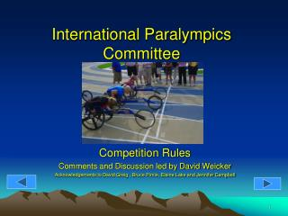 Universal Paralympics Board of trustees