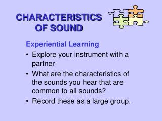 Qualities OF SOUND
