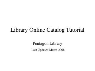 Library Online Inventory Instructional exercise