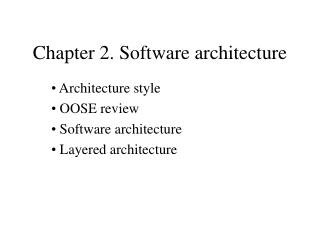 Part 2. Programming engineering