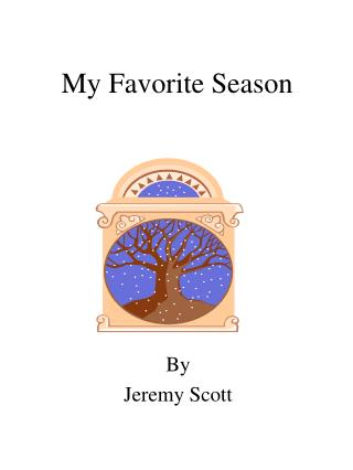 My Most loved Season