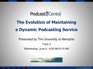 The Advancement of Keeping up an Element Podcasting Administration