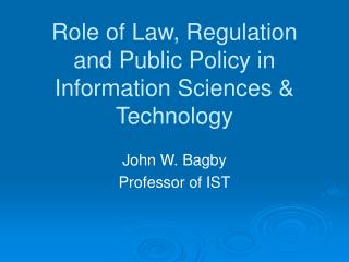 Part of Law, Regulation and Open Strategy in Data Sciences and Innovation
