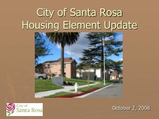 City of Santa Clause Rosa Lodging Component Redesign