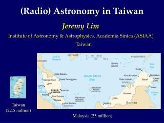(Radio) Space science in Taiwan