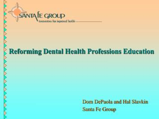 Changing Dental Wellbeing Callings Instruction