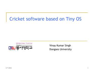 Cricket programming in light of Little OS