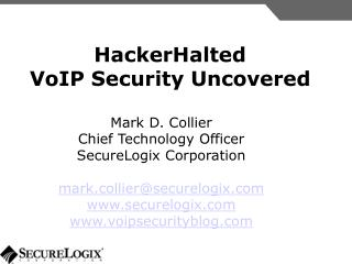HackerHalted VoIP Security Revealed