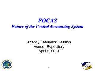 FOCAS Fate of the Focal Bookkeeping Framework