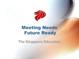 Addressing Needs Future Prepared