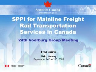 SPPI for Mainline Cargo Rail Transportation Administrations in Canada