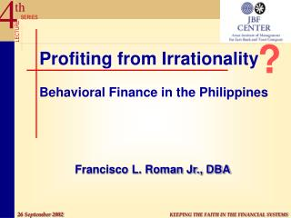 Benefitting from Nonsensicalness Behavioral Account in the Philippines