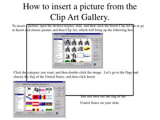 The most effective method to embed a photo from the Clasp Craftsmanship Display.