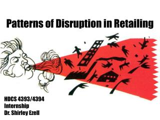 Examples of Interruption in Retailing