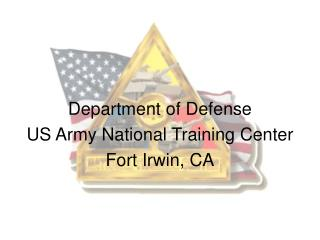 Branch of Guard US Armed force National Preparing Center Post Irwin, CA