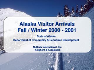 Gold country Guest Landings Fall/Winter 2000 - 2001