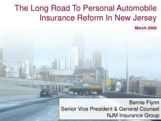 The Long Street To Individual Accident protection Change In New Jersey Walk 2006