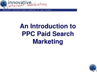 A Prologue to PPC Paid Pursuit Promoting