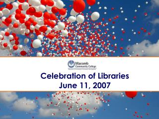 Festivity of Libraries June 11, 2007