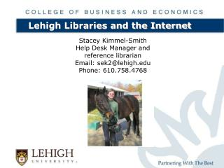 Lehigh Libraries and the Web