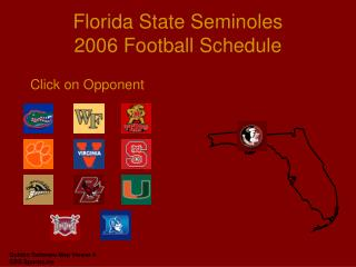 Florida State Seminoles 2006 Football Plan