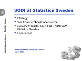 SODI at Measurements Sweden
