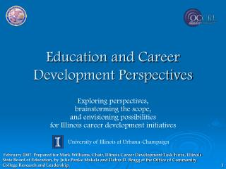 Training and Profession Improvement Points of view