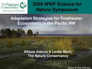 2009 WWF Science for Nature Symposium