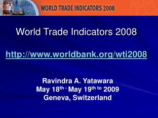 World Exchange Pointers 2008 worldbank/wti2008