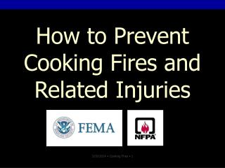 Step by step instructions to Counteract Cooking Fires and Related Wounds
