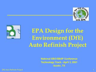 EPA Outline for The earth (DfE) Auto Restore Venture